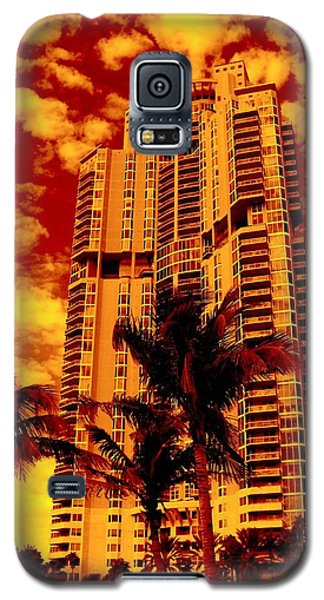 Miami South Pointe IIi Highrise Galaxy S5 Case