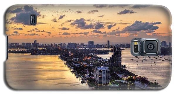 Miami Sunrise Galaxy S5 Case