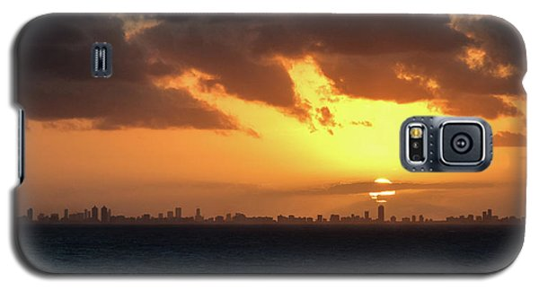 Miami Sunset Galaxy S5 Case