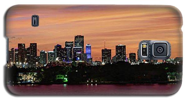 Miami Sunset Panorama Galaxy S5 Case