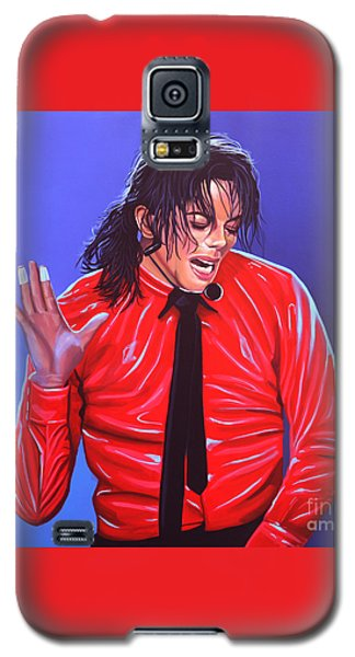 Michael Jackson 2 Galaxy S5 Case by Paul Meijering