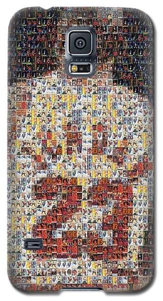 Michael Jordan Card Mosaic 2 Galaxy S5 Case