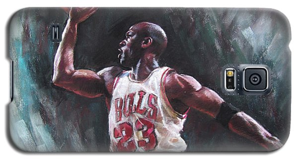 Bull Galaxy S5 Case - Michael Jordan by Ylli Haruni