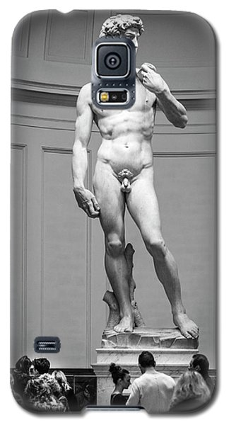 Galaxy S5 Case featuring the photograph Michelangelo's David by Sonny Marcyan