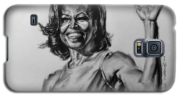 Michelle Obama  Galaxy S5 Case