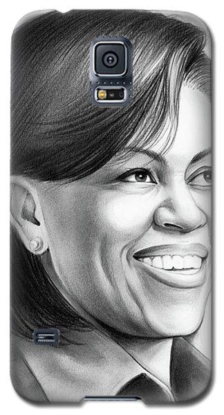 Barack Obama Galaxy S5 Case - Michelle Obama by Greg Joens