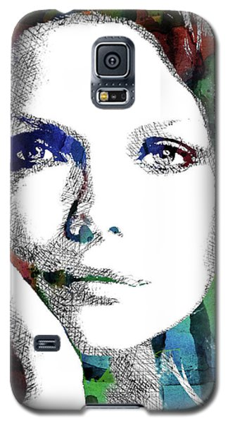 Michelle Pfeiffer Galaxy S5 Case by Mihaela Pater