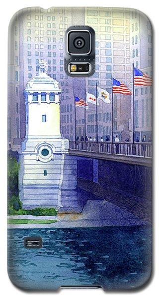 Michigan Avenue Bridge Galaxy S5 Case