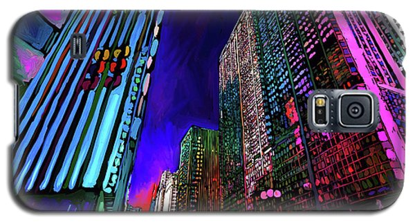 Michigan Avenue, Chicago Galaxy S5 Case