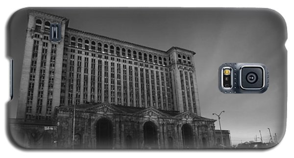 Michigan Central Station At Midnight Galaxy S5 Case