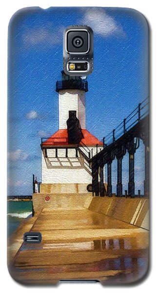 Michigan City Light 1 Galaxy S5 Case