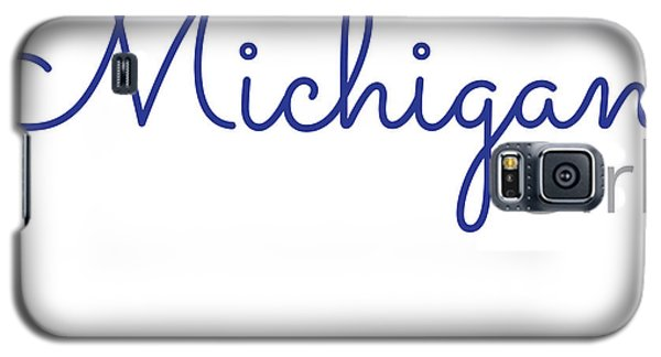 Michigan Girl Galaxy S5 Case