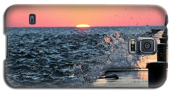 Galaxy S5 Case featuring the photograph Michigan Summer Sunset by Bruce Patrick Smith