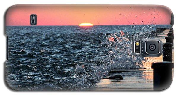 Michigan Summer Sunset Galaxy S5 Case