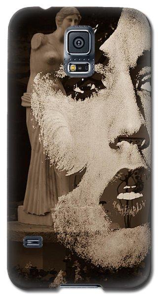 Mick Black And White Galaxy S5 Case