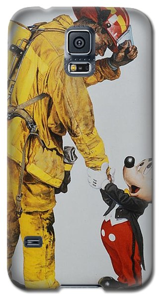 Mickey And The Bravest Galaxy S5 Case by Rob Hans