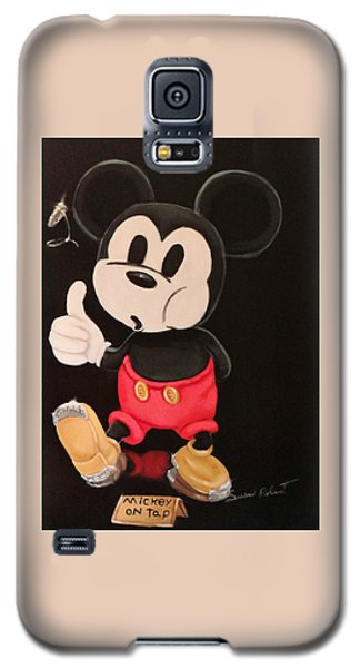 Mickey On Tap Galaxy S5 Case