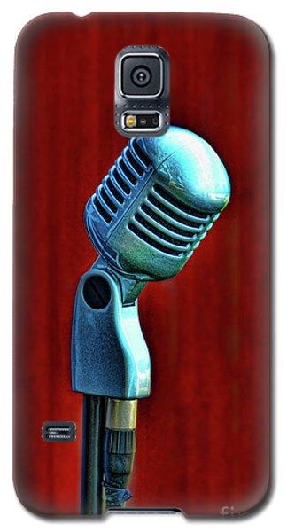 Microphone Galaxy S5 Case by Jill Battaglia
