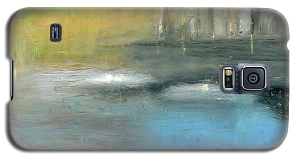 Galaxy S5 Case featuring the painting Mid-summer Glow by Michal Mitak Mahgerefteh