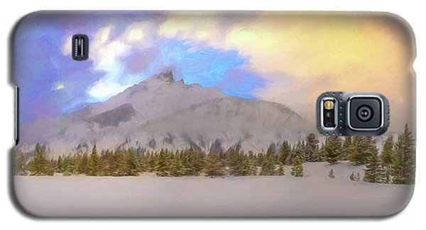 Mid-winter Sunset Galaxy S5 Case