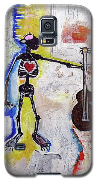 Middle-aged Musician Galaxy S5 Case