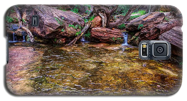 Middle Emerald Pools Zion National Park Galaxy S5 Case