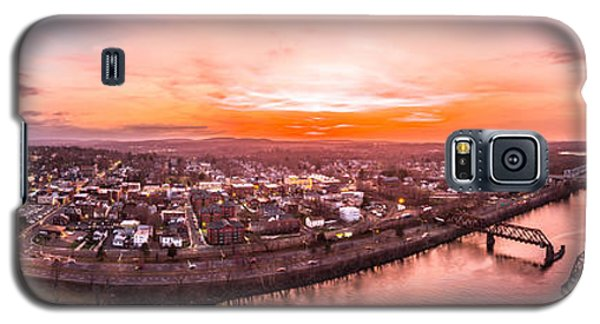 Middletown Connecticut Sunset Galaxy S5 Case by Petr Hejl