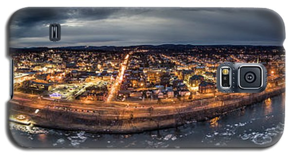 Middletown Ct, Twilight Panorama Galaxy S5 Case by Petr Hejl