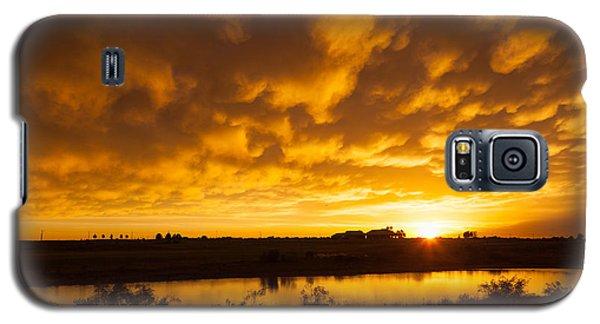 Midland Sunset Galaxy S5 Case