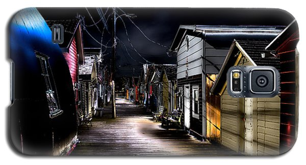 Midnight At The Boathouse Galaxy S5 Case by William Norton