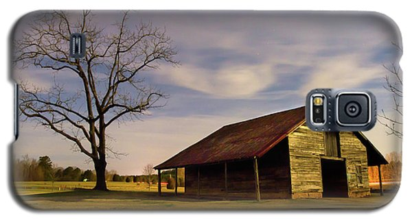 Galaxy S5 Case featuring the photograph Midnight At The Mule Barn by George Randy Bass