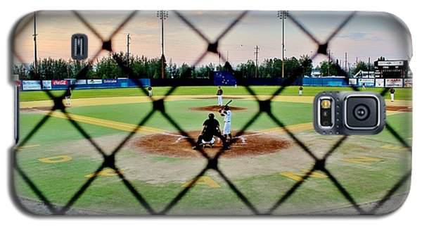 Galaxy S5 Case featuring the photograph Midnight Baseball by Benjamin Yeager