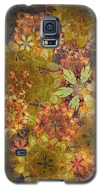 Midnight Blossom Bouquet Galaxy S5 Case