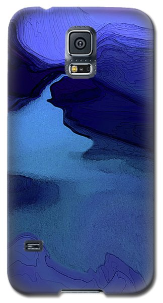 Midnight Blue Galaxy S5 Case