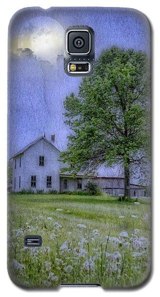 Midnight Blue Galaxy S5 Case by Mary Timman