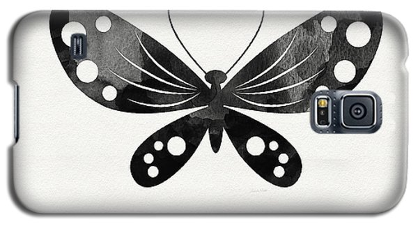 Midnight Butterfly 3- Art By Linda Woods Galaxy S5 Case by Linda Woods