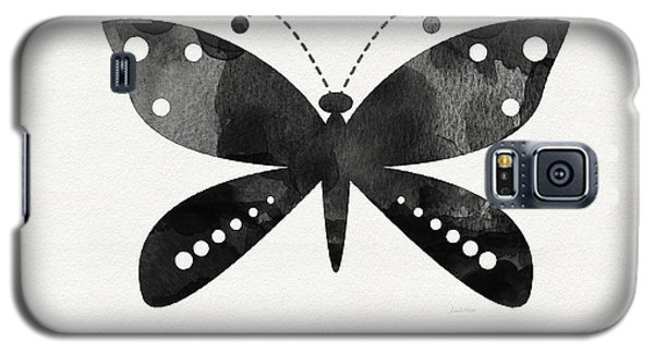 Butterfly Galaxy S5 Case - Midnight Butterfly 4- Art By Linda Woods by Linda Woods