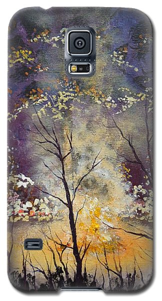 Midnight Campsite Galaxy S5 Case