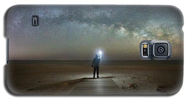 Midnight Explorer At Assateague Island Galaxy S5 Case