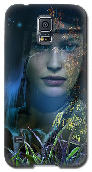 Midnight Gaia Galaxy S5 Case