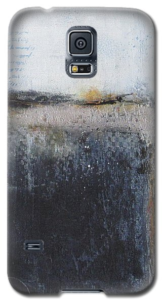Galaxy S5 Case featuring the painting Midnight Glow by Nicole Nadeau