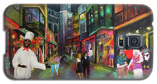 Midnight In New Orleans Galaxy S5 Case