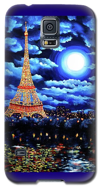 Midnight In Paris Galaxy S5 Case by Laura Iverson