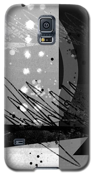 Midnight In The City 1 Triptych Galaxy S5 Case by Ann Powell