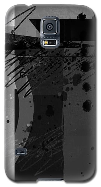 Midnight In The City 2 Triptych Galaxy S5 Case by Ann Powell
