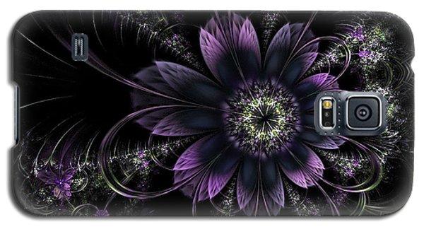 Midnight Mistletoe Galaxy S5 Case