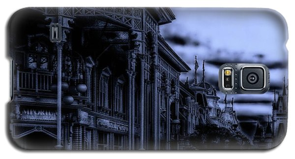Midnight On Main Street Disney World Mp Galaxy S5 Case by Thomas Woolworth