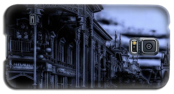 Midnight On Main Street Disney World Mp Galaxy S5 Case