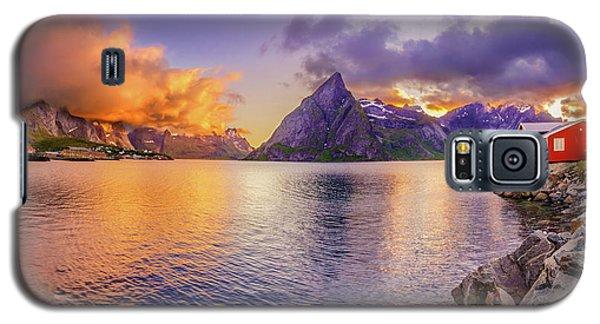 Midnight Orange Galaxy S5 Case