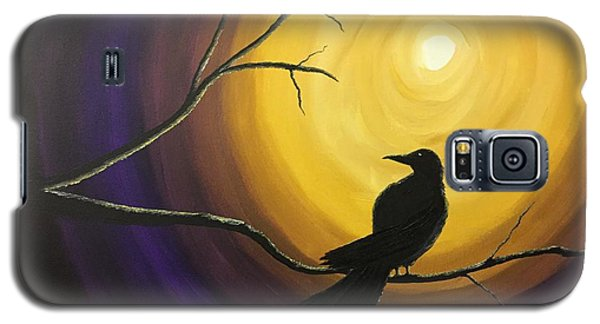Midnight Raven Galaxy S5 Case